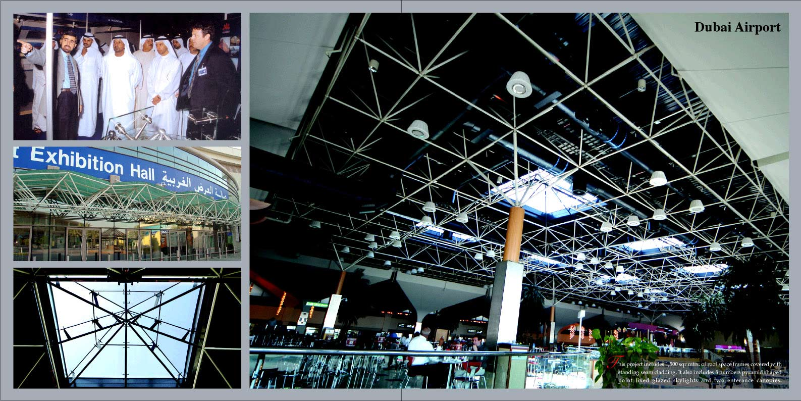 Management of Design, Fabrication, Installation | PRISMA Space Frame ...