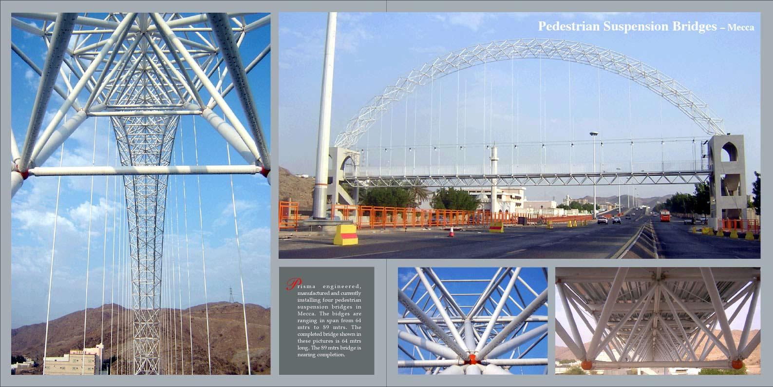 Pedestrian Suspension Bridges Mecca