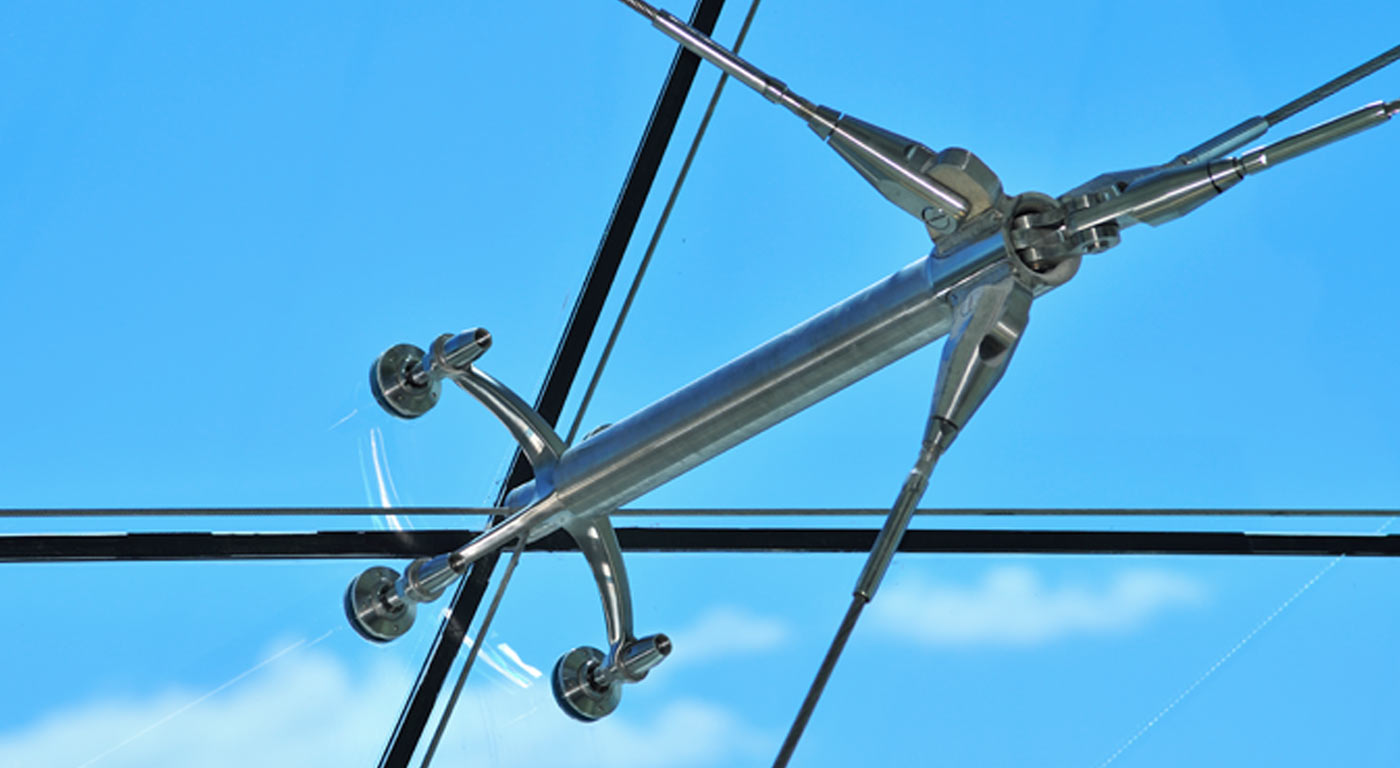 Glazed Tension / Cable Structure