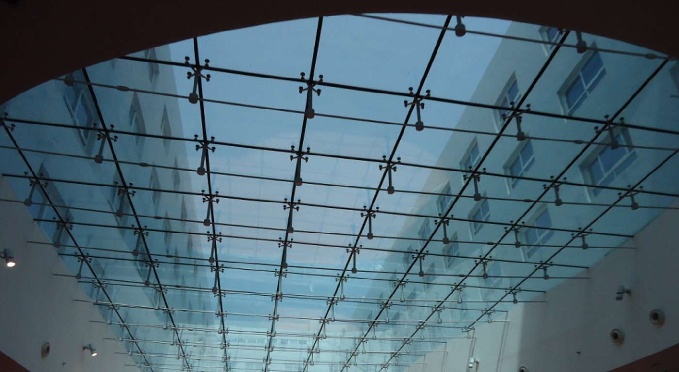 Metal Space Frame Sun Shading Steel Structure Dubai